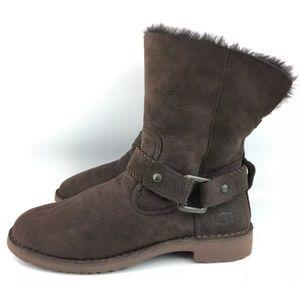 *Repaired* UGG Cedric Sheepskin Short Boots